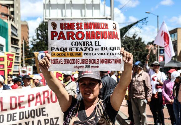 7 lecciones que le dejó el paro nacional al sindicalismo colombiano