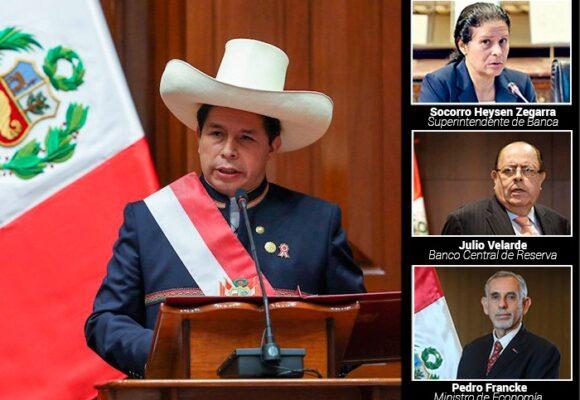 Los tres que pueden salvar a Perú de la debacle económica