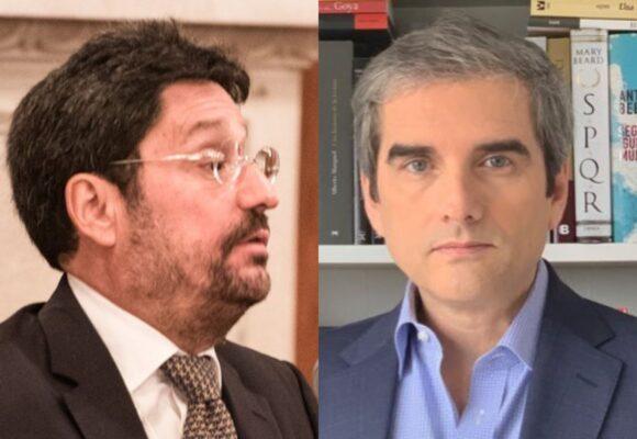 Bofetada de Félix de Bedout a Pacho Santos por hablar mal de Epa Colombia