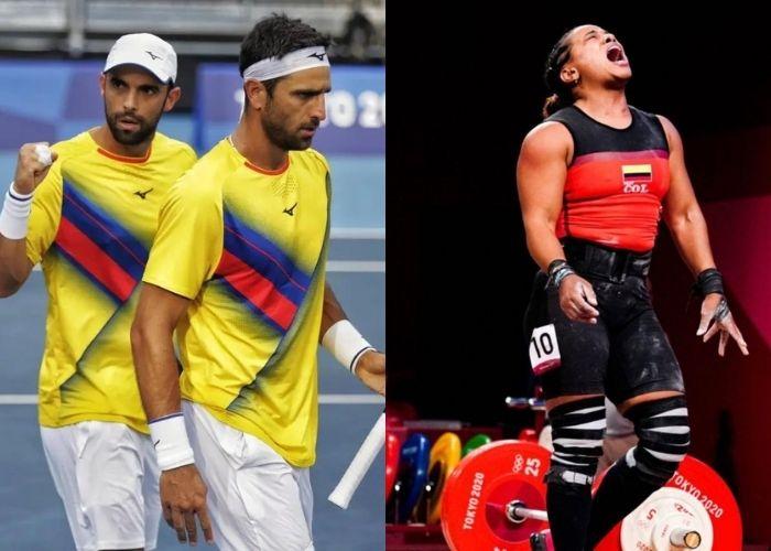 Las decepciones de Colombia en Tokio 2020