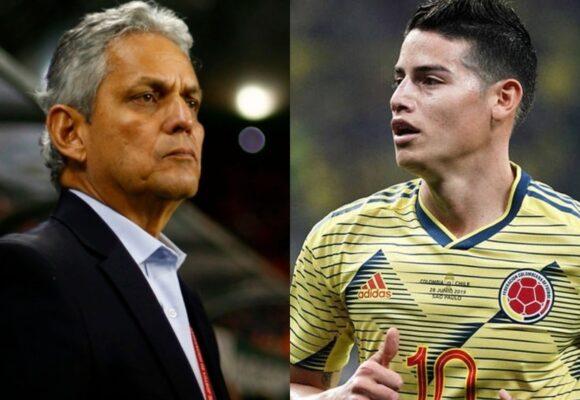 Los jugadores de Colombia están felices sin James en la selección