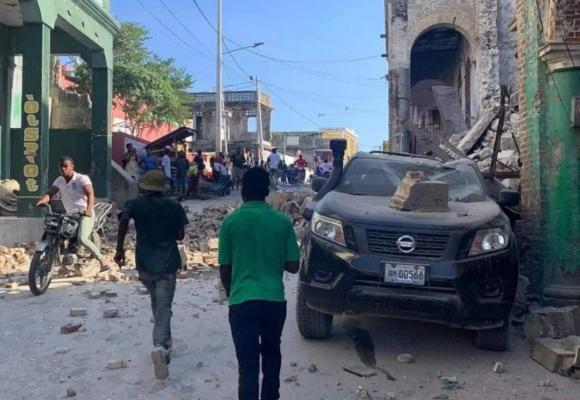 Un sismo de magnitud 7,2 deja muertos y daños materiales en Haití