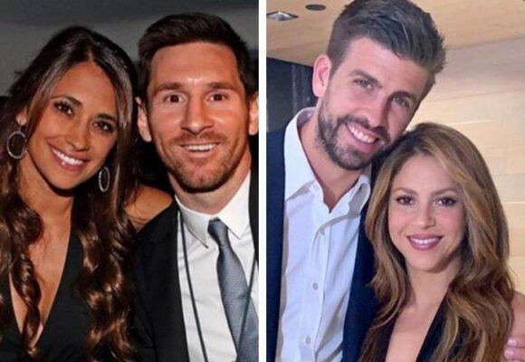 Antonella, la esposa de Messi no puede ver ni en pintura a Shakira