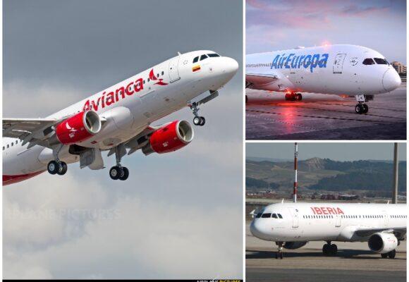Tres aerolíneas golpeadas por el cierre de España para los colombianos