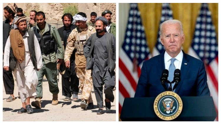 La derrota de Biden en Afganistán