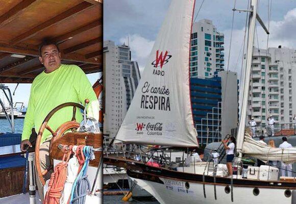 El capitán detrás de la expedición Caribe Respira