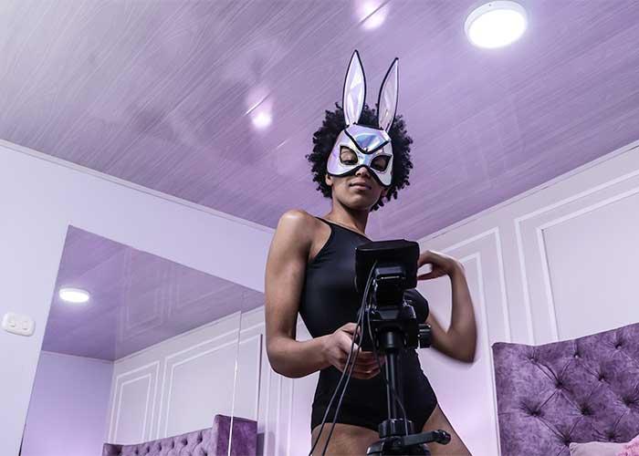 modelaje webcam