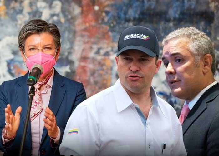 Gobierno Duque le baja el pulgar al comando contra criminales venezolanos de Claudia López