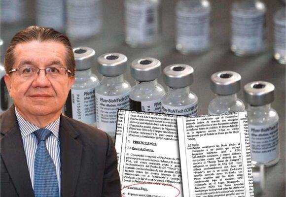 ¿Cuánto pagó el gobierno Duque por las vacunas de Pfizer y AstraZeneca?