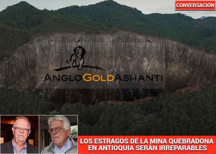 """Anglo Gold Ashanti, mentirosa hasta morir"""