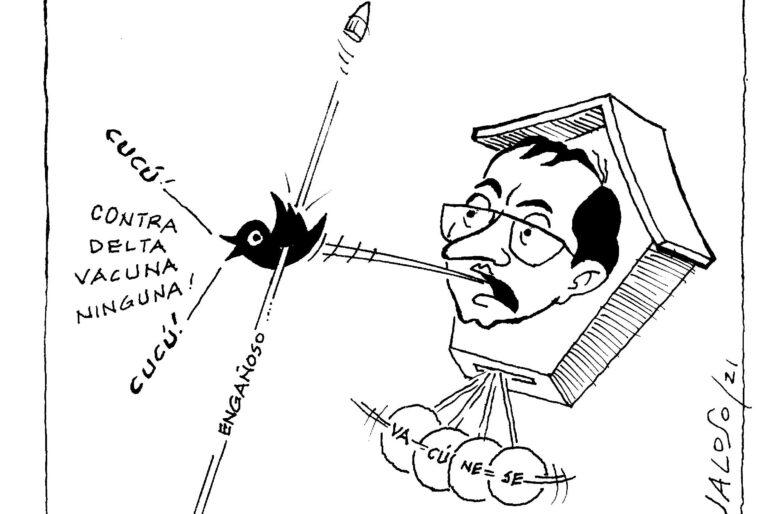 Caricatura: Desatino en trino