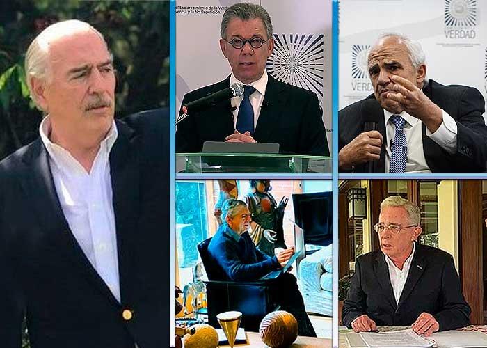 Cinco versiones de cinco expresidentes sobre la guerra