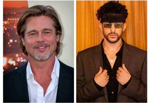 Brad Pitt y Bad Bunny: el nuevo dúo de Hollywood