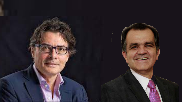 Óscar Iván Zuluaga y Alejandro Gaviria parecen darle inicio al final de la tormenta