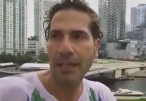 La ignorancia de Gregorio Pernía, el actor que ahora se cree médico