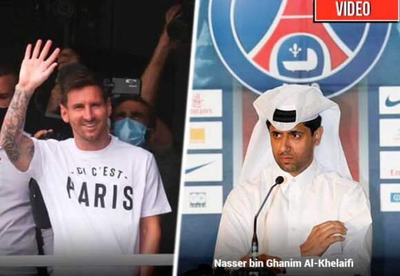El derroche millonario del jeque catarí que compró a Messi