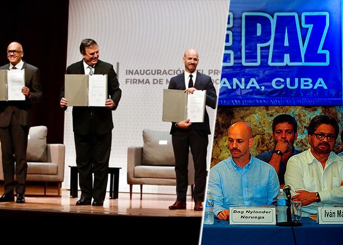 El noruego facilitador en la negociación Farc-Santos está con el diálogo Maduro-oposición