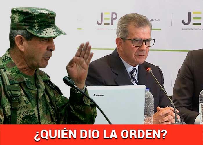 La sin salida de Mario Montoya: sus soldados lo echan al agua por los falsos positivos