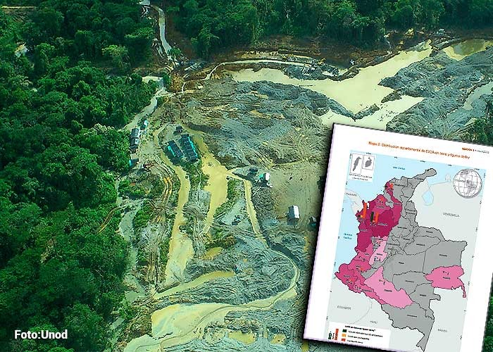 Colombia, un país minero pero ilegal