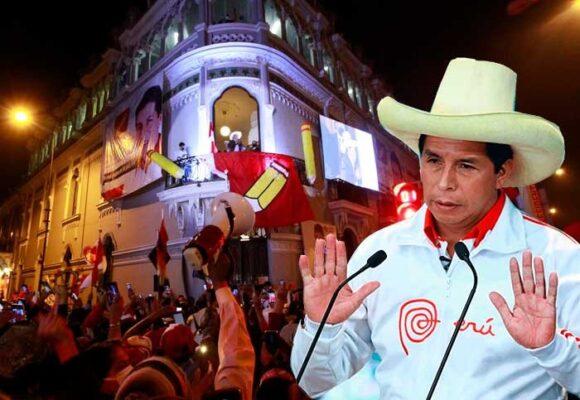 Perú: allanan sedes del partido del presidente Castillo por financiamiento de campaña electoral