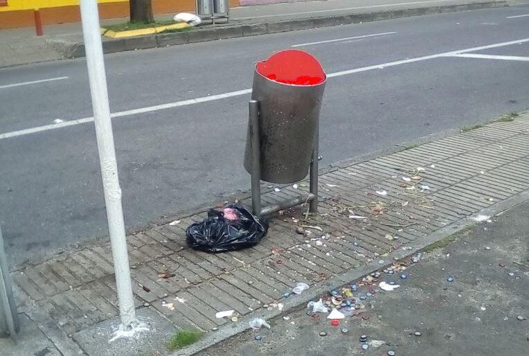 Con las canecas de Peñalosa, ahora Bogotá está sucia todo el tiempo
