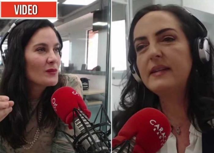 VIDEO: El intenso agarrón entre María Fernanda Cabal y Vanessa de la Torre