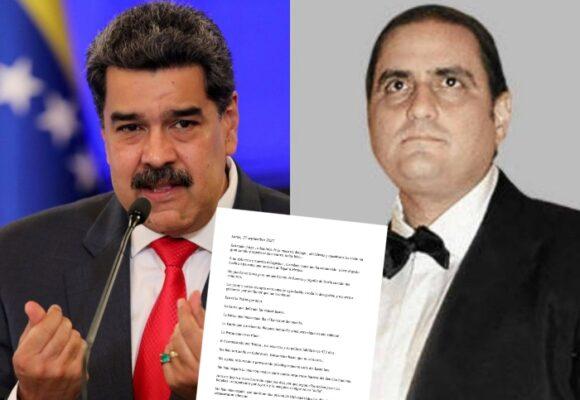 Alex Saab detalla las torturas que recibe y jura lealtad a Maduro con explosiva carta