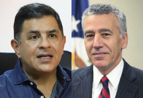 El alcalde Ospina destapó su correspondencia con el embajador de EEUU para recibir afganos