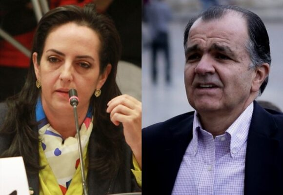 ¿María Fernanda Cabal celosa con Oscar Iván Zuluaga?