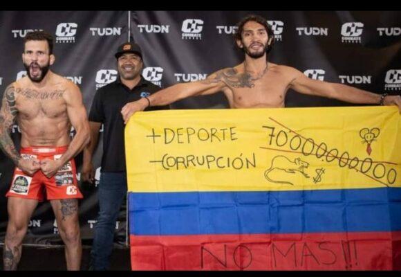 La corrupción de Colombia se hace famosa en la MMA de Estados Unidos