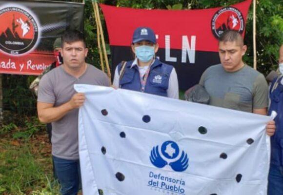 Los días en el monte de Espitia y Flórez, los dos militares liberados por el ELN