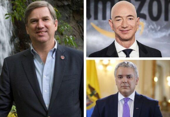 El artífice del encuentro entre Jeff Bezos y Duque