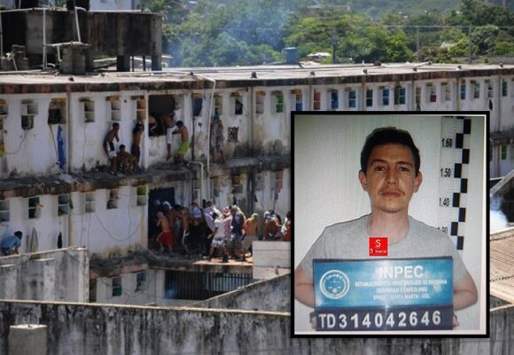 Así es como Enrique Vives pasa sus días en la dura cárcel de Santa Marta