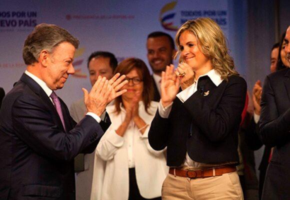 Cuando Maria Andrea Nieto adoraba a Juan Manuel Santos