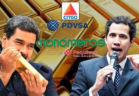El valioso botín que Maduro quiere que Guaidó le devuelva
