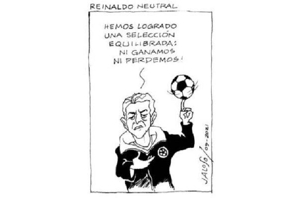 Caricatura: Reinaldo neutral