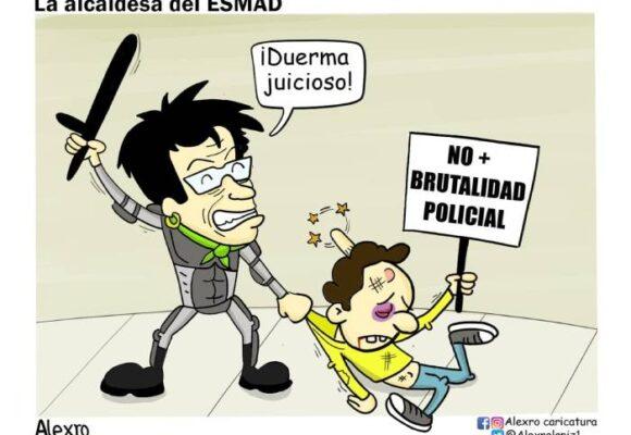 Caricatura: La alcaldesa del Esmad