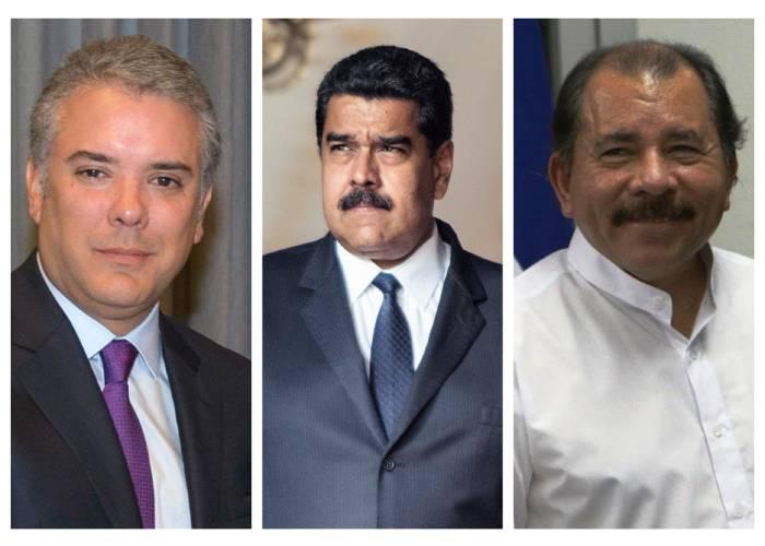 Colombia, como Venezuela y Nicaragua pero en la otra orilla