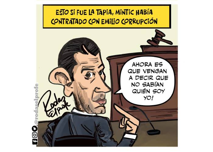 Caricatura: Esto sí fue la Tapia