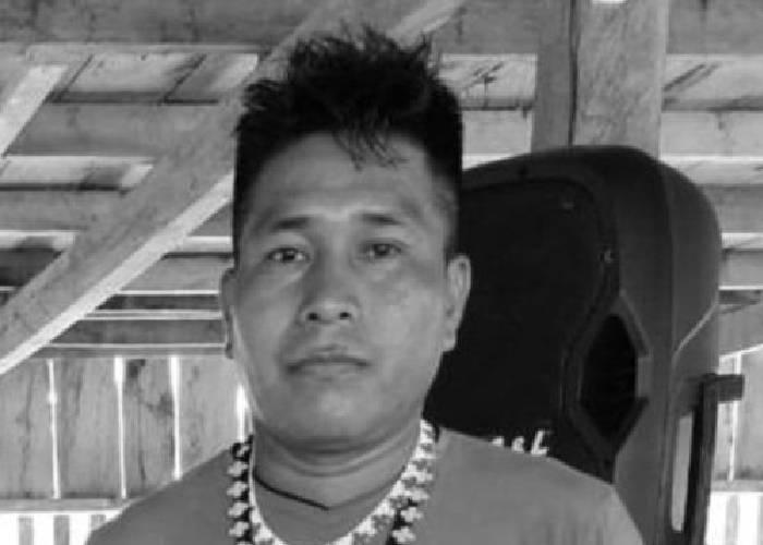 El asesinato de un líder embera que presentía su muerte