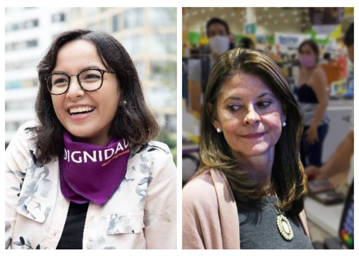 Jennifer Pedraza puso en su sitio a la vicepresidenta