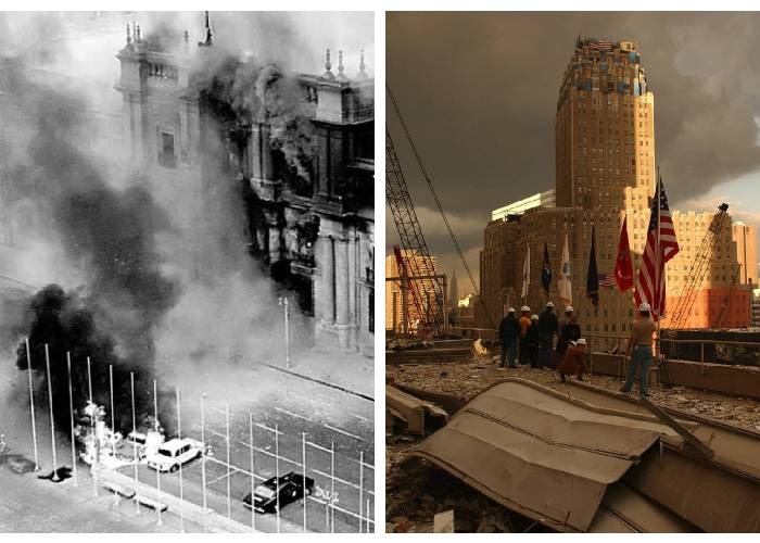 El 11 de septiembre que eclipsó un día de terrorismo en Chile