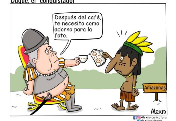 Caricatura: Duque