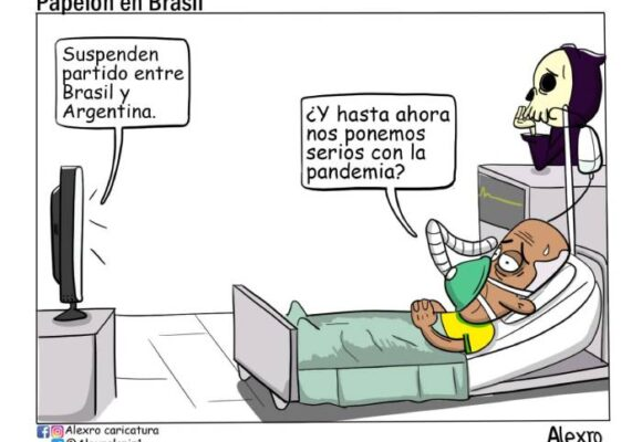 Caricatura: Papelón en Brasil