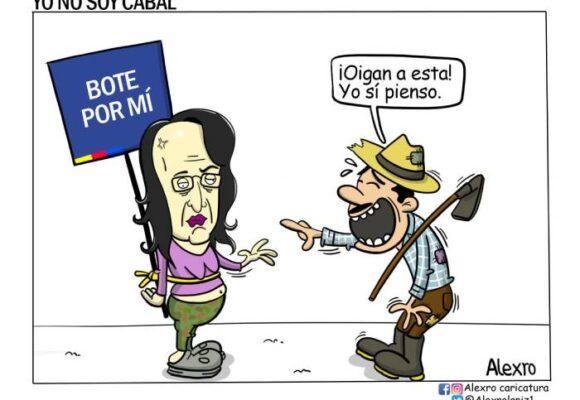 Caricatura: Yo no soy cabal