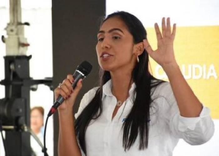 Claudia Zuleta, la diputada que no va a Mandinguilla, Cesar