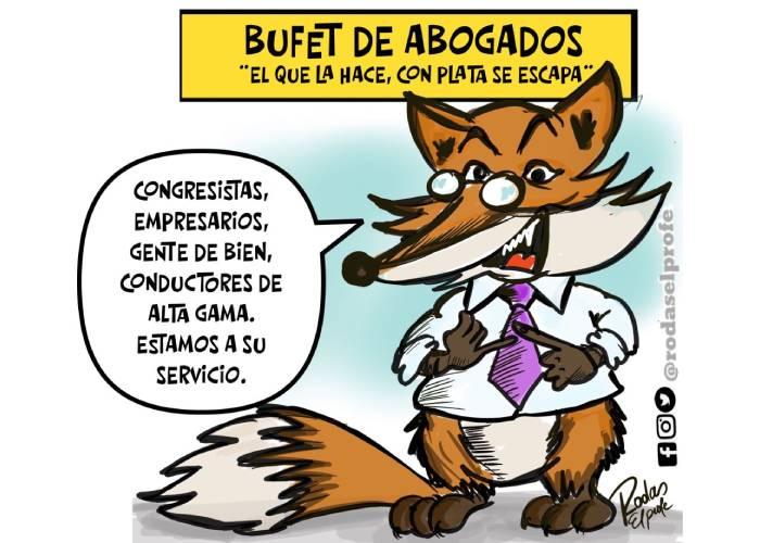 Caricatura: Buffet de abogados