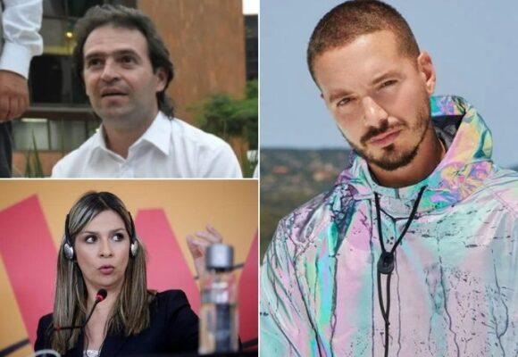 Vicky Dávila y Federico Gutiérrez salen en defensa de J Balvin