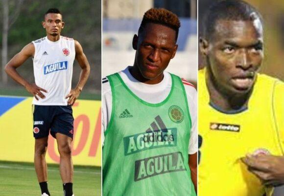 Tesillo, Yerry Mina y el 11 oficial de los troncos de la selección Colombia