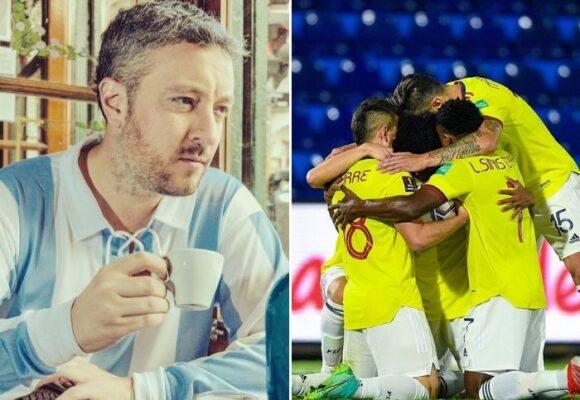 Carrozza, el periodista argentino que más detesta a la selección Colombia